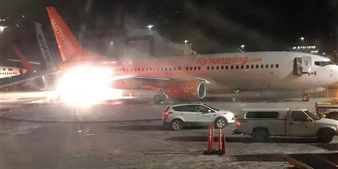 Kanada'da korkunç kaza: Uçaklar çarpıştı