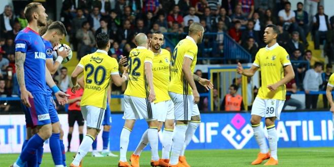 Karabük - Fenerbahçe maçı sonucu ve golleri