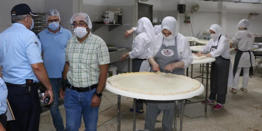 Kartal Belediyesi Bayram'da da denetimlerini sürdürdü