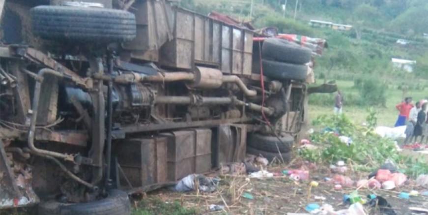 Kenya'da korkunç kaza: 40 ölü!