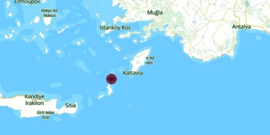 Kerpe'de 4.9 büyüklüğünde deprem