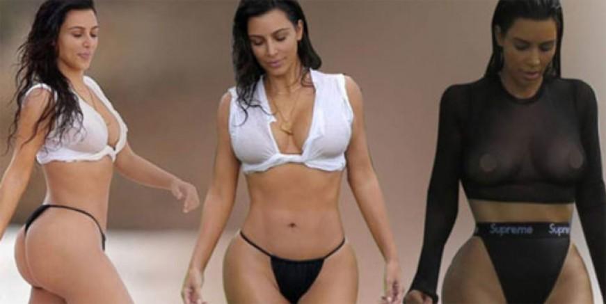 Kim Kardashian'dan flaş kalça itirafı