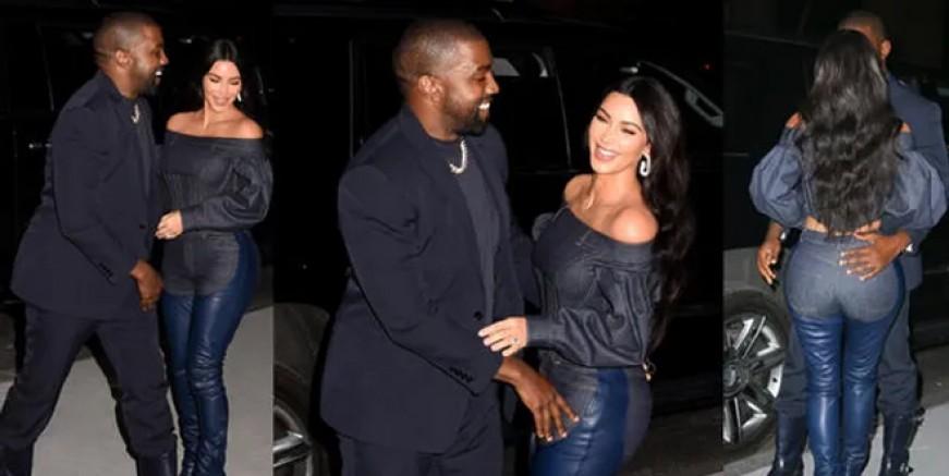 Kim Kardashian ve Kanye West boşanıyor