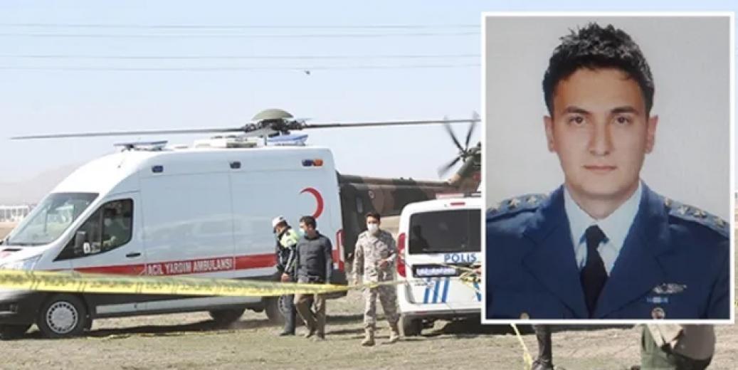 Konya'da askeri gösteri uçağı düştü pilot şehit oldu