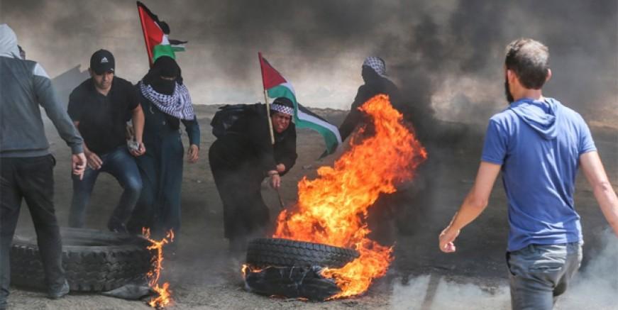 Kudüs'te Filistinlilere ateş açıldı; 28 ölü