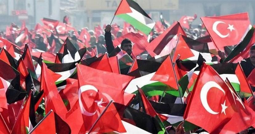 Kudüs'ün çığlığı İstanbul'da yankılanıyor!