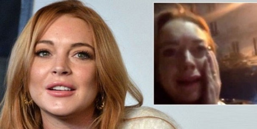 Lindsay Lohan'a yumruklu saldırı