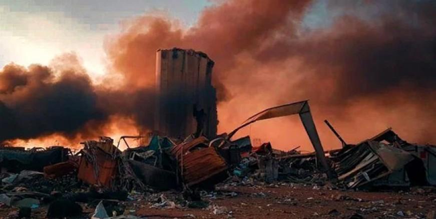 Lübnan'daki patlamada can kaybı 100 oldu