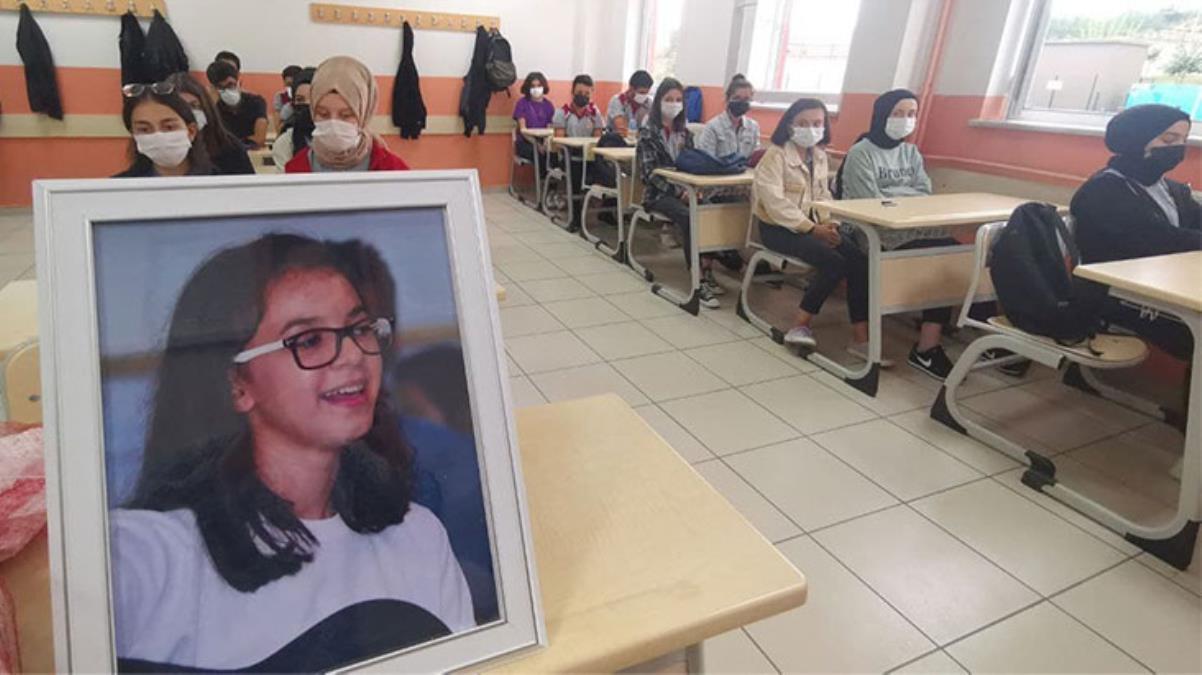 Maganda kurbanı Büşra'nın sınıfında duygusal anlar!