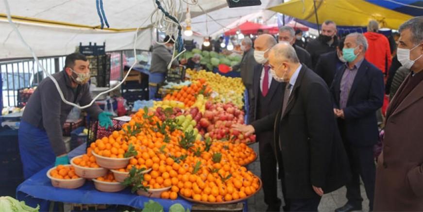 Maltepe Belediyesi Covid-19 denetiminde