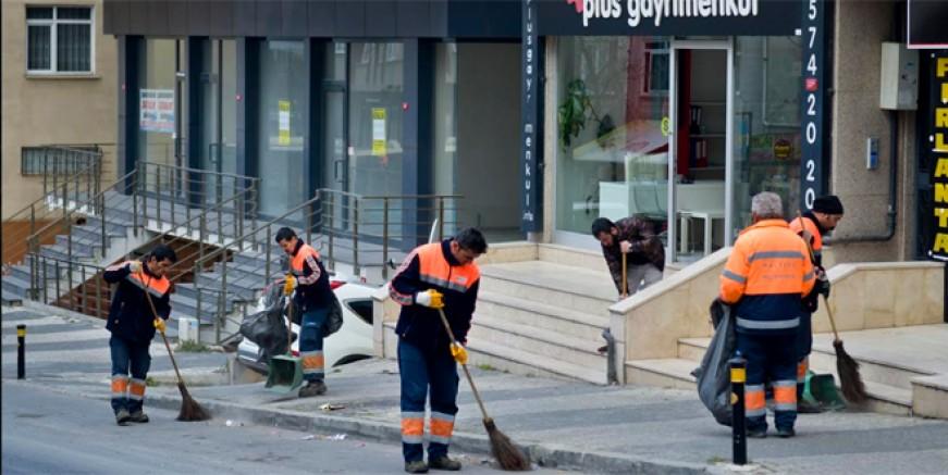 Maltepe'de bahar temizliği