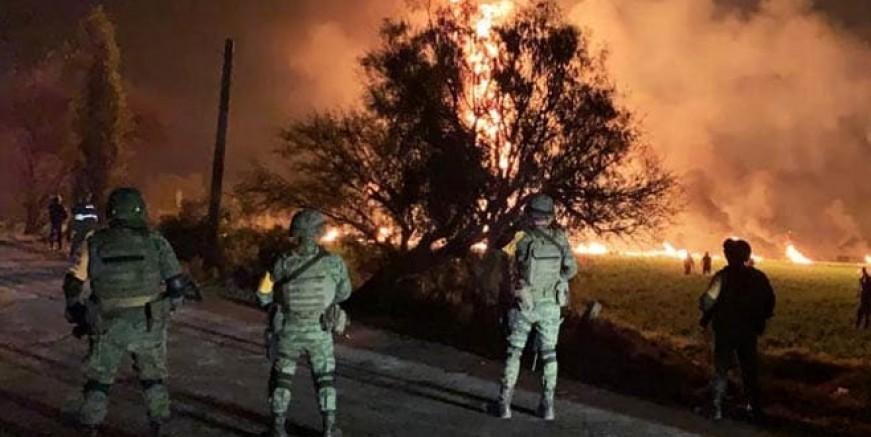 Meksika'da boru hattı patladı; 85 ölü