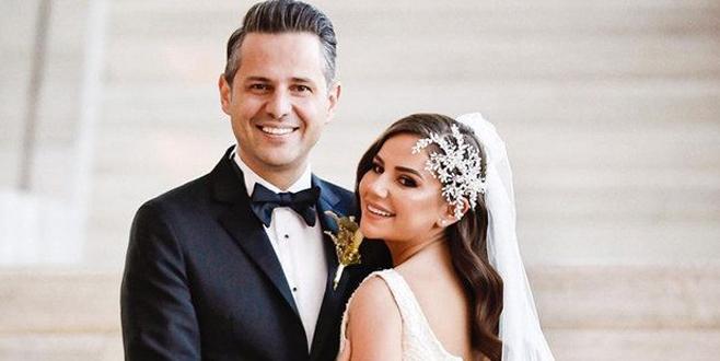 Merve Özbey Kenan Koçak ile evlendi