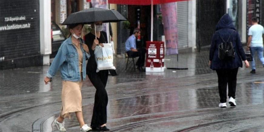 Meteoroloji'den 9 ile kuvvetli yağış uyarısı