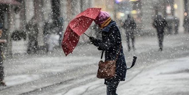 Meteoroloji'den İstanbul'a kar uyarısı!