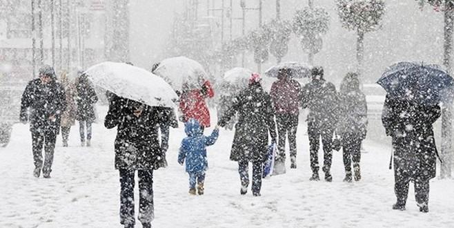 Meteoroloji uyardı! Bugün kar yağışı başlıyor