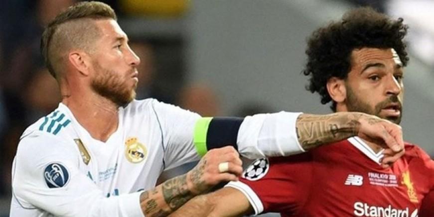 Mohamed Salah Sergio Ramos'a ateş püskürdü