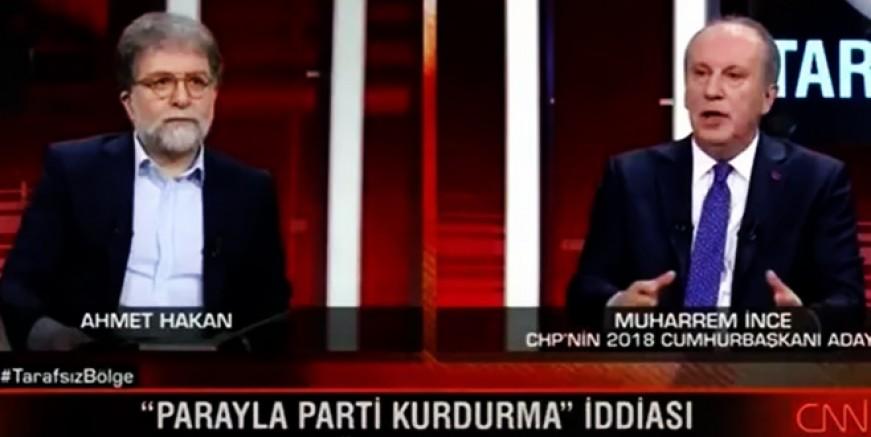 Muharrem İnce Kılıçdaroğlu'nu topa tuttu
