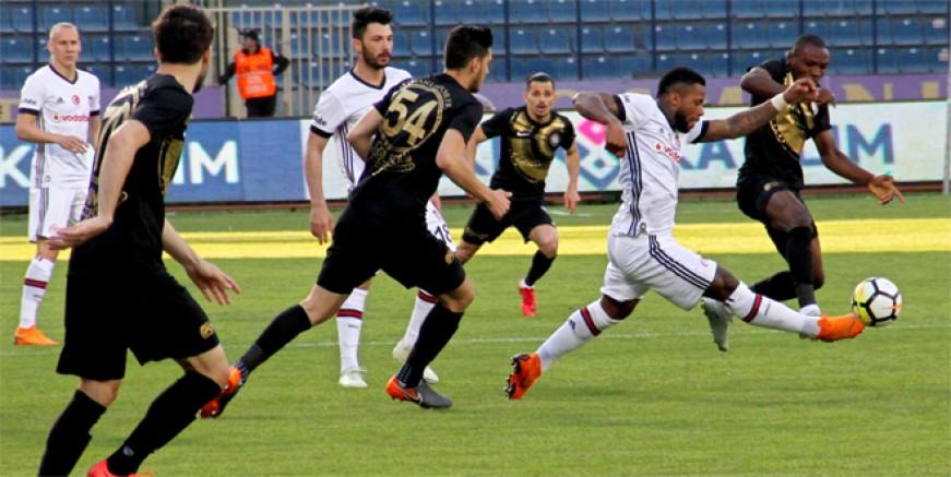 Osmanlıspor Süper Lig'e veda etti