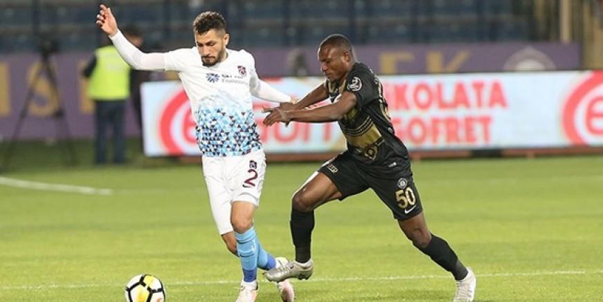 Osmanlıspor - Trabzonspor maçı sonucu ve golleri