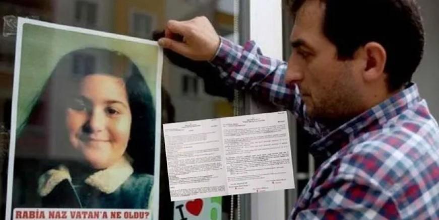 Rabia Naz Vatan olayında DNA çözüldü