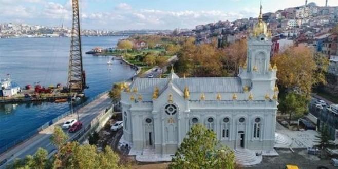 Restorasyonu tamamlanan Demir Kilise bugün açıldı