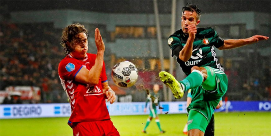 Robin van Persie attı Feyenoord kazandı