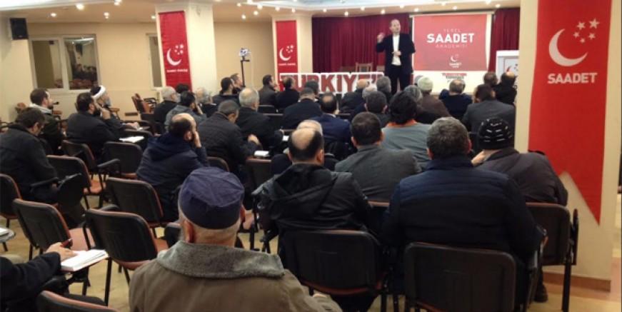 Saadet İstanbul yerel seçimlere hazırlanıyor!