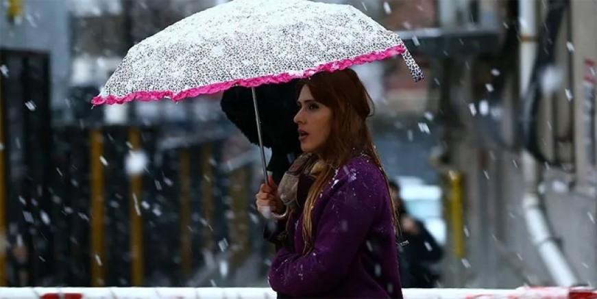 Sağanak yağmur, fırtına, kar! Her şey var