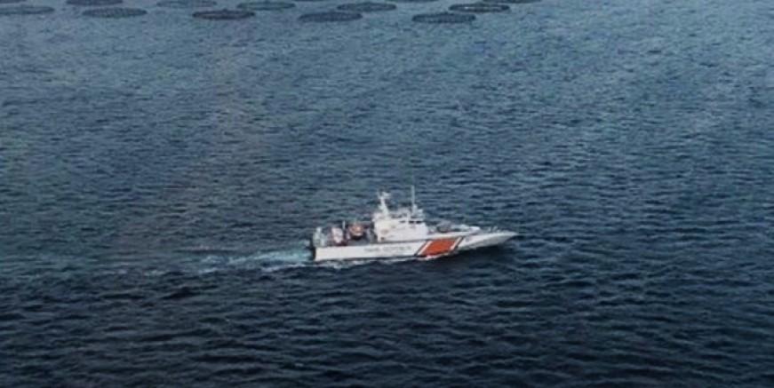 Sinop'ta balıkçı teknesi battı