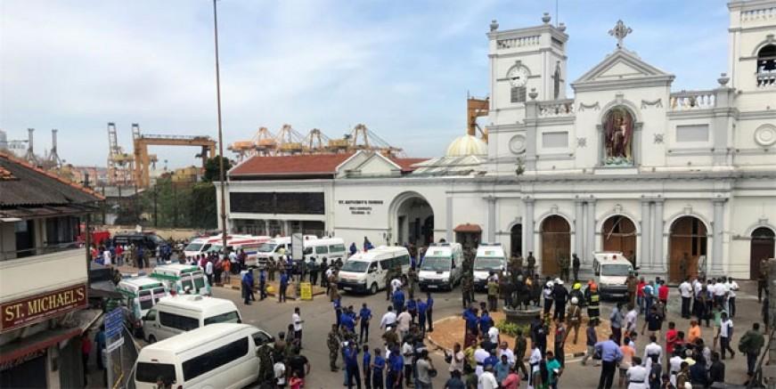 Sri Lanka'da ölü sayısı 290 oldu