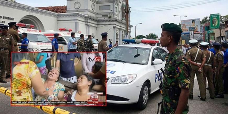 Sri Lanka'da Paskalya kana bulandı; 129 ölü