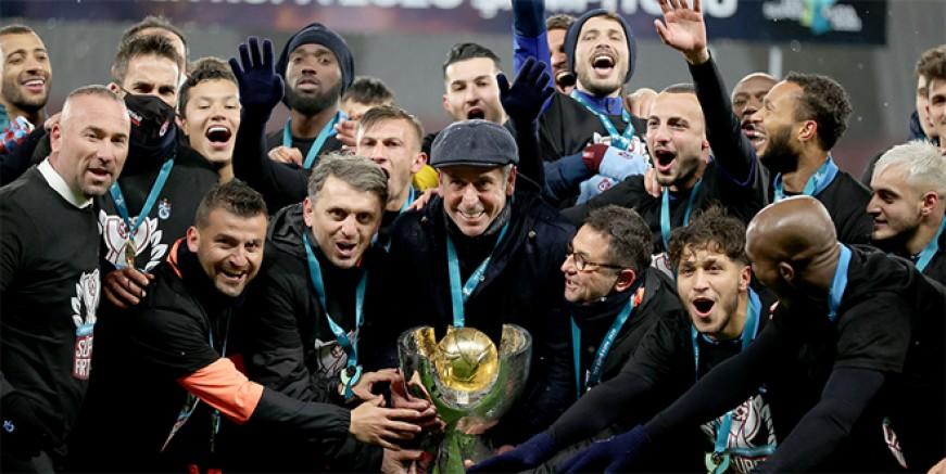 Süper Kupa şampiyonu Trabzonspor