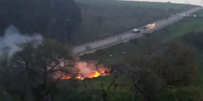 Suriye İsrail'in uçağını düşürdü!