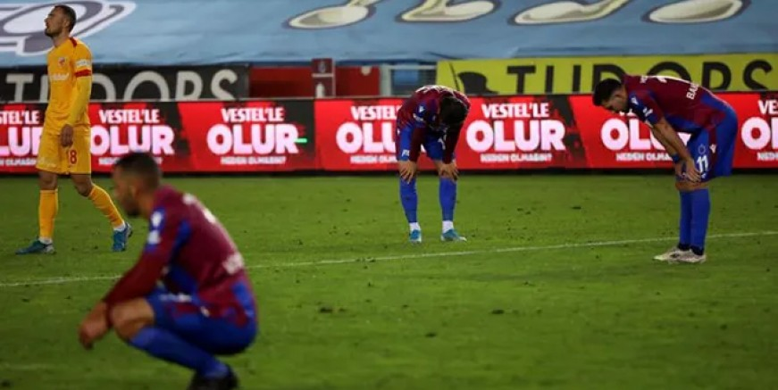 Trabzonspor 12 puan kaybetti!