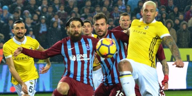 Trabzonspor Fenerbahçe maçı sonucu ve golleri