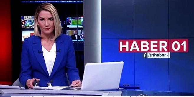 TRT Haber canlı yayınında skandal hata