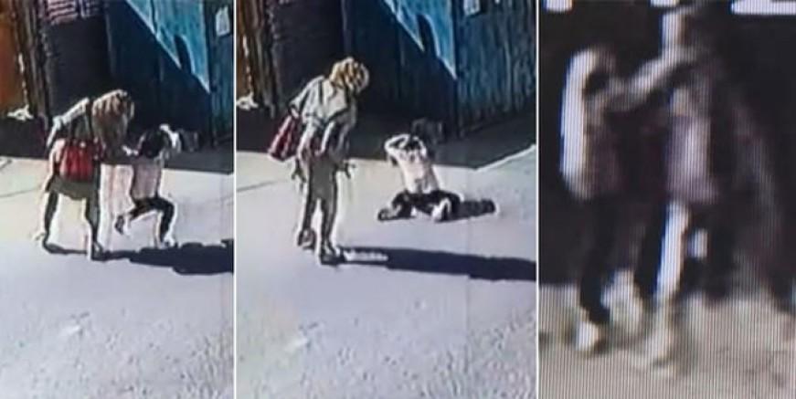 Tuzla'da sokak ortasında anne dehşeti