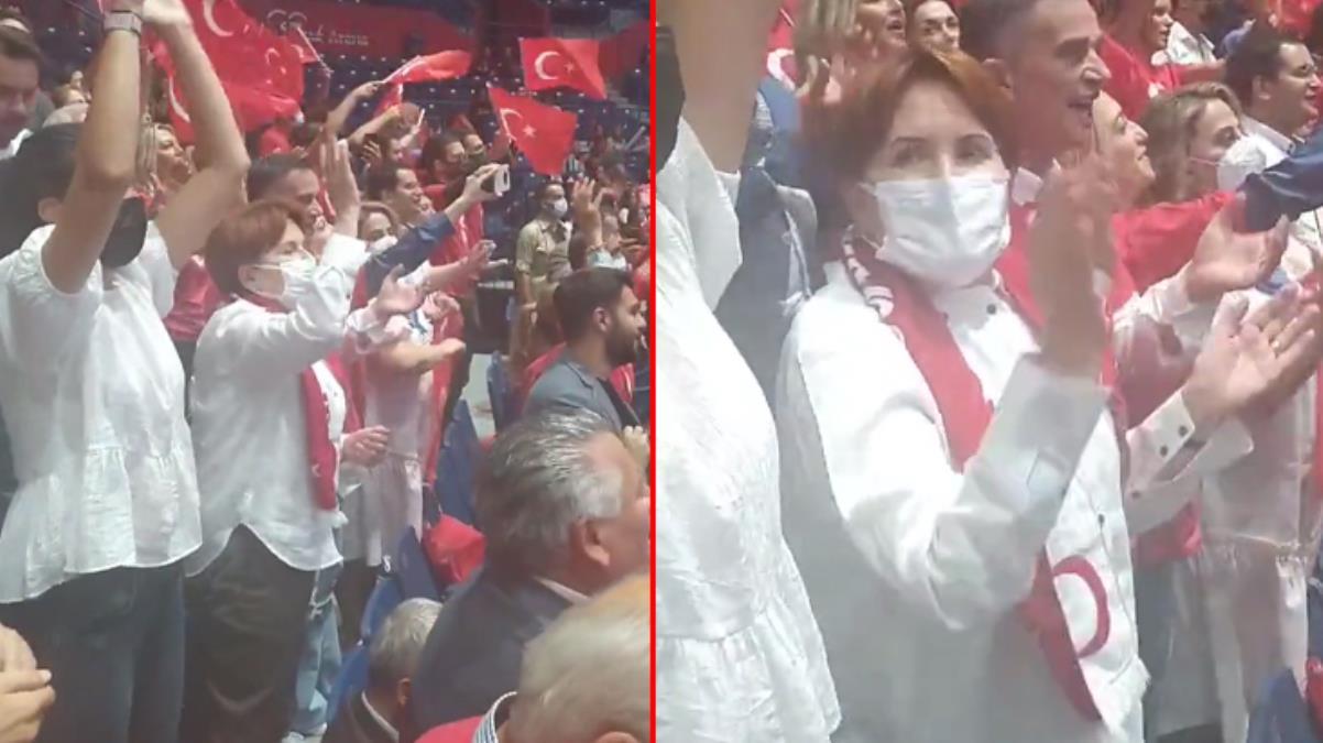 Meral Akşener Filenin Sultanları'na böyle destek verdi