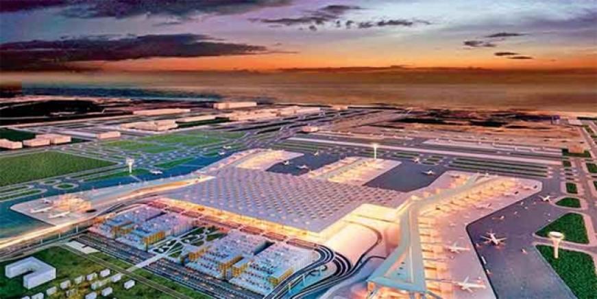 Yeni havalimanına Erdoğan sürprizi!