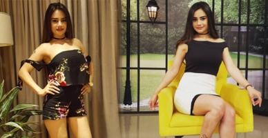 Naz'ın ateşli dansı sosyal medyayı salladı